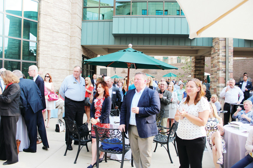 Hundreds turned out to celebrate Sky Ridge Medical Center's 15th anniversary Aug. 20. The hospital opened in 2003 as the first in Douglas County.