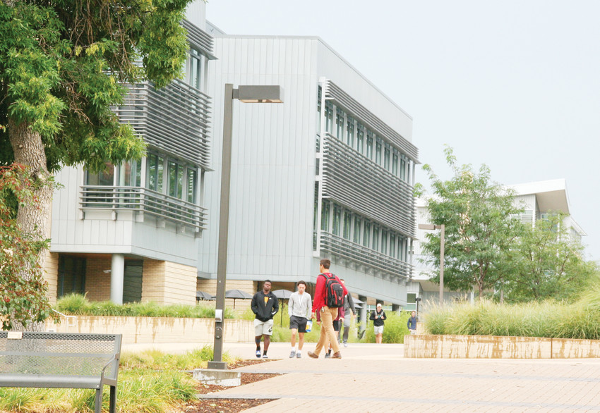 The Colorado School of Mines campus is again active with students attending the 2018-19 school year. Classes began on Aug. 20.