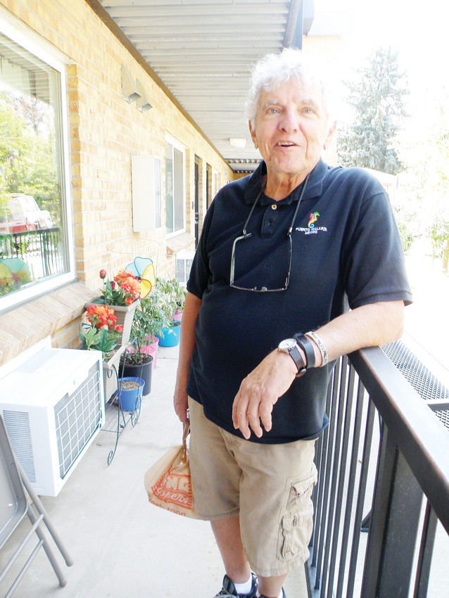 Gino Pauline, a retired professor and university administrator, has delivered for TLC Meals on Wheels for 14 years.