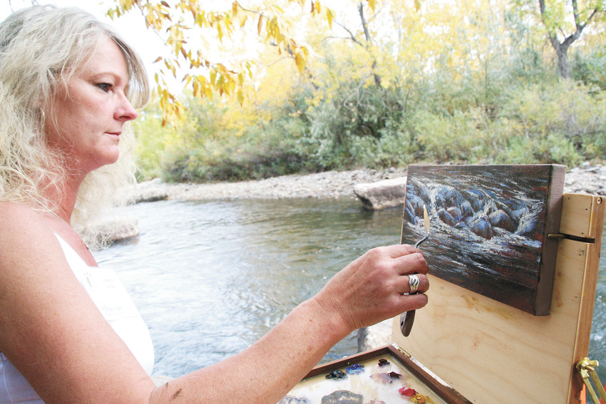 Artist Janeice Linden is one of the returning painters participating in the Jeffco Open Space fundraiser In Plein Sight this year.