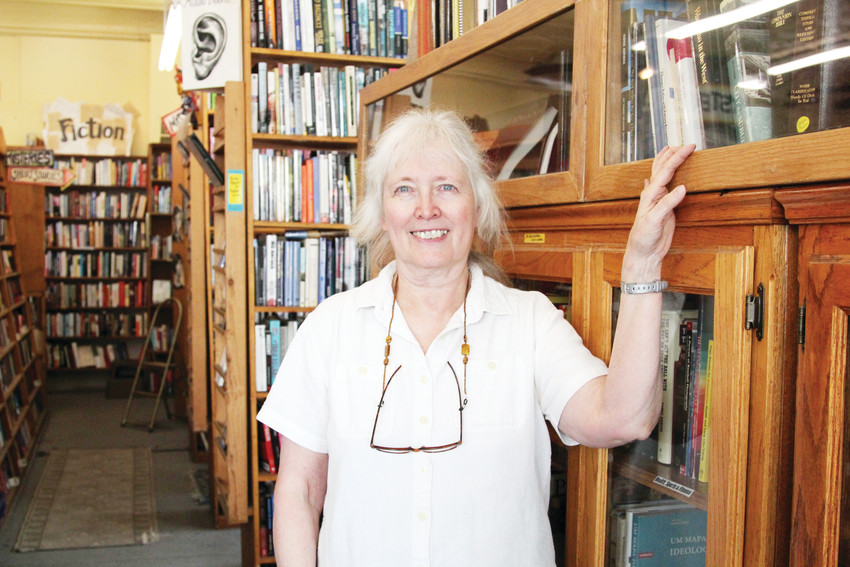Holly Brooks has owned Capitol Hill Books since 2005, but the store has occupied its location across from the state Capitol for 37 years.
