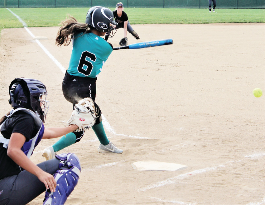 Westminster junior Ashley Romero singles against Fort Collins Aug. 28.