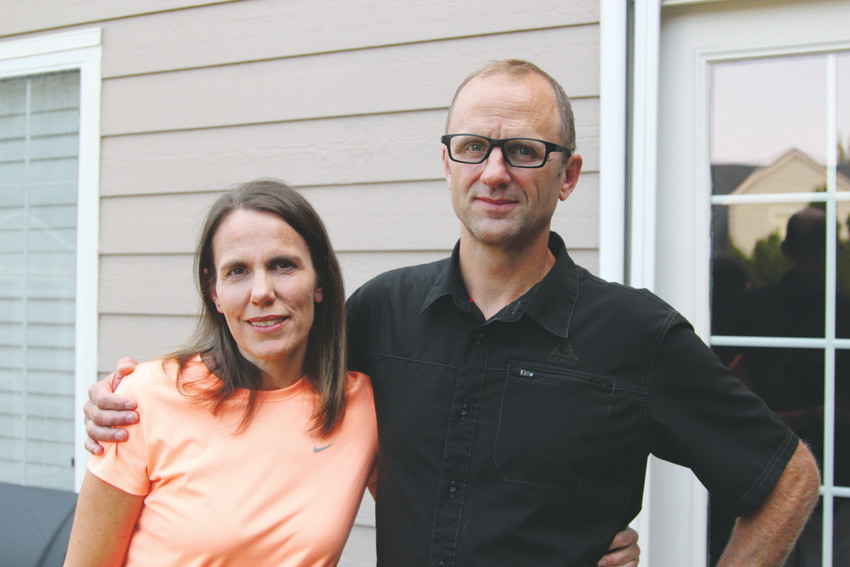 "Karin and Terry Schamberger celebrated their 25-year wedding anniversary in August. ""I try not to forget that every day he makes a choice to be sober and that it really takes amazing strength to maintain it,"" Karin said."