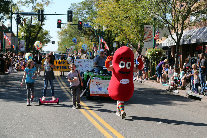 The National Kidney Foundation promoted the Denver Kidney Walk scheduled fro Oct. 14.