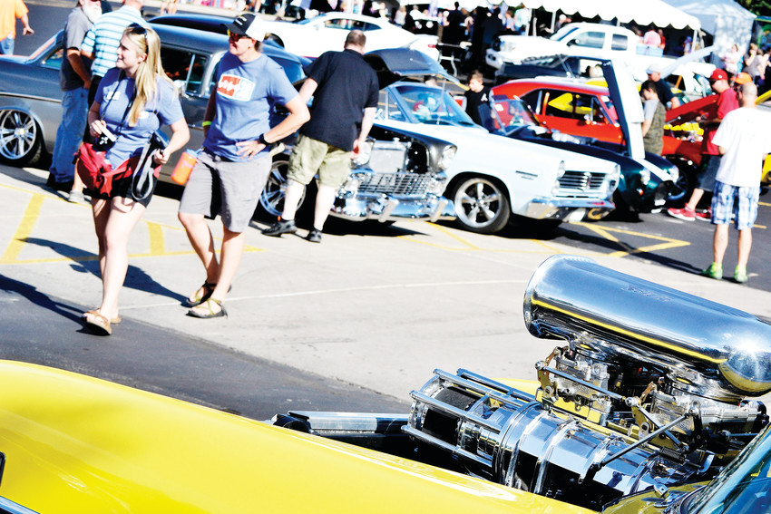 A car show was among the activities during Ridge Fest on the Ridge at 38 space Saturday, Sept. 8.