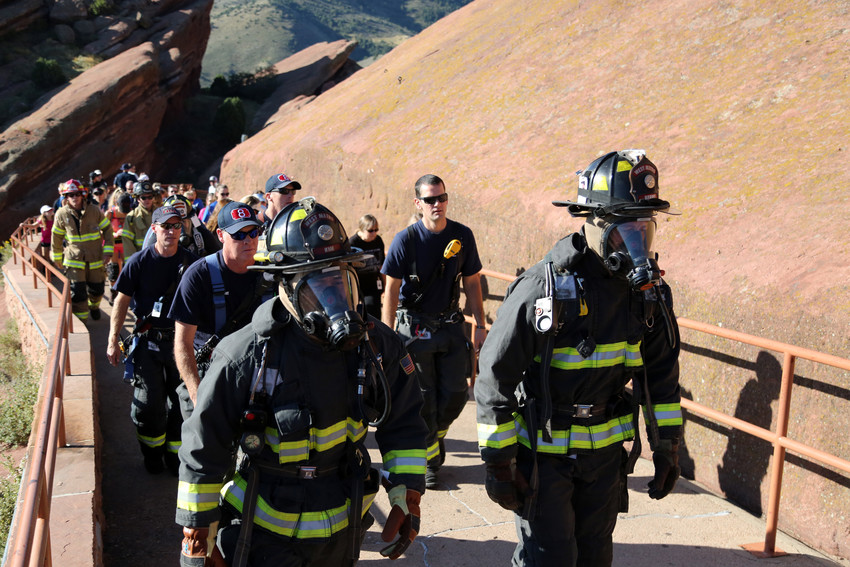 The 2018 Colorado 9/11 Memorial Stair Climb is a way to honor and remember the 343 FDNY firefighters and almost 3,000 Americans who died on 9/11.