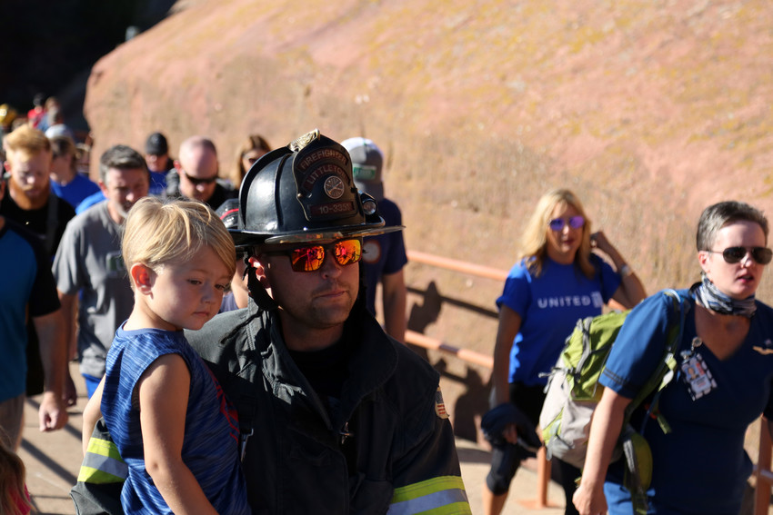 Littleton Fire was one of the many Denver metro departments that participated in the annual event.
