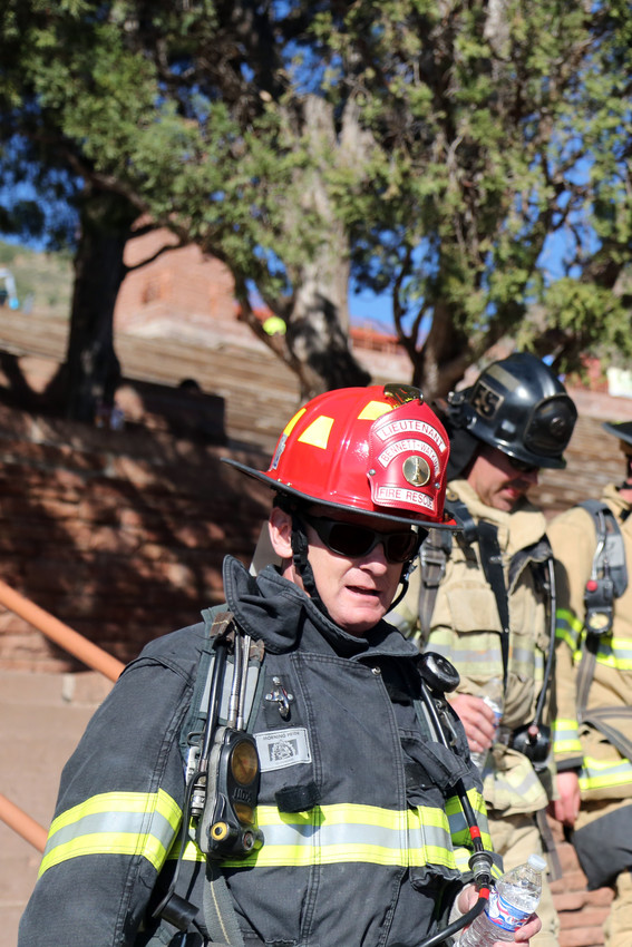 Bennet-Watkins Fire Rescue was one of over 45 fire departments to participant in the Memorial Stair Climb at Red Rocks.