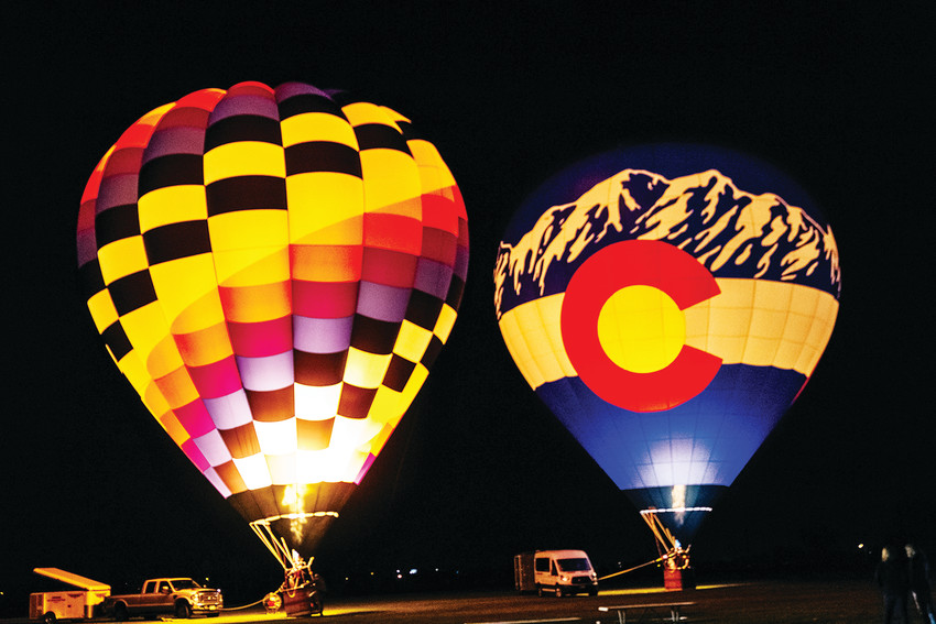Hot air balloons wil light the night sky as the Hyland Hills Recreation District closes out the summer with its second annual Parkfest, 5-9 p.m. Sept. 14 at Clear Creek Valley Park, 58th and Tennyson streets.