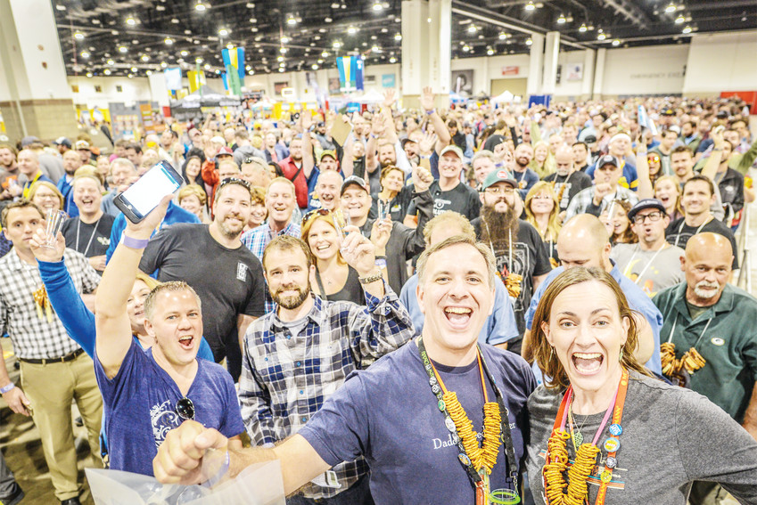 Thousands of people gather at the Colorado Convention Center for the annual Great American Beer Festival. This year the festivities take place Sept. 20-22.