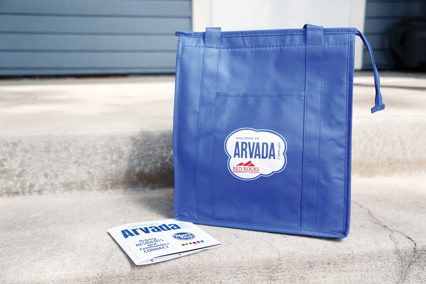 The revamped welcome bag includes useful items from local businesses as a relocation guide.