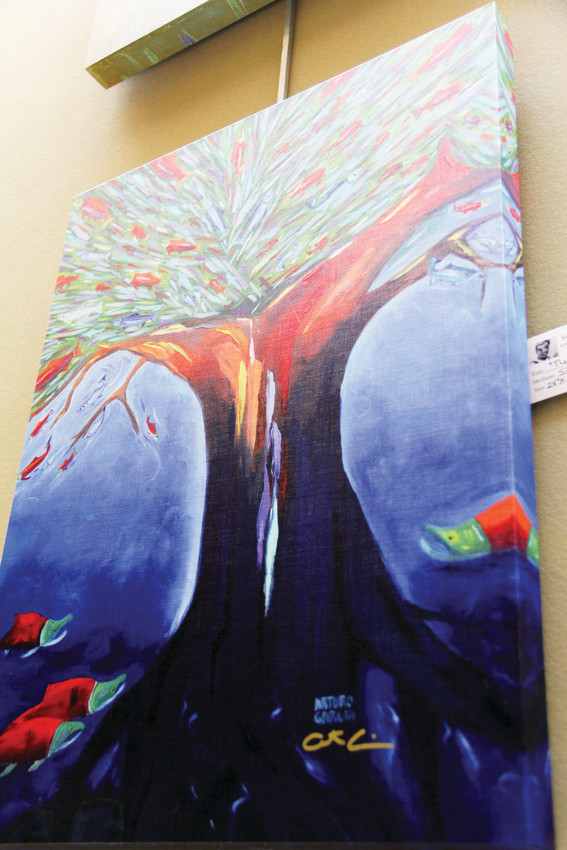 Artwork by Littleton-area artist Arturo Garcia on display Sept. 13 at Goodson Recreation Center in Centennial. Garcia draws inspiration from scenes in the American West.