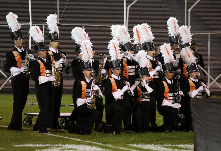 The Lakewood High School marching band took first place in Class 5A at the Jefferson County Marching Invitational held Sept. 17 at Jeffco Stadium.