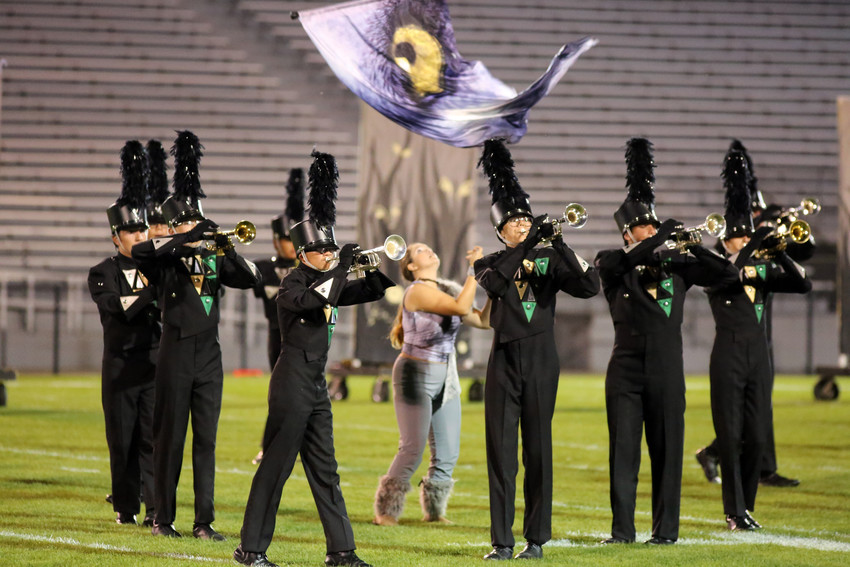 The Bear Creek marching band performance was titled Spirit Animals.