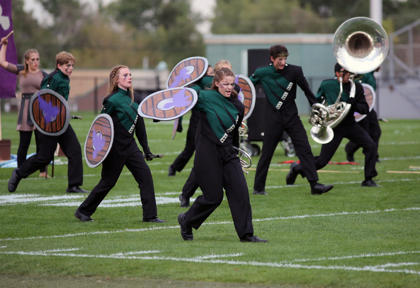 D'Evelyn High took first place for Class 3A at the Jefferson County Marching Invitational held Sept. 17.