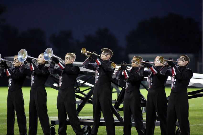 The Pomona High marching band took fourth place in Class 3A at the Jeffco Marching Invitational.