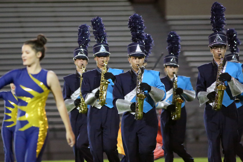 Ralson Valley placed fourth in Class 5A at the Jeffco Marching Invitational Sept. 17.