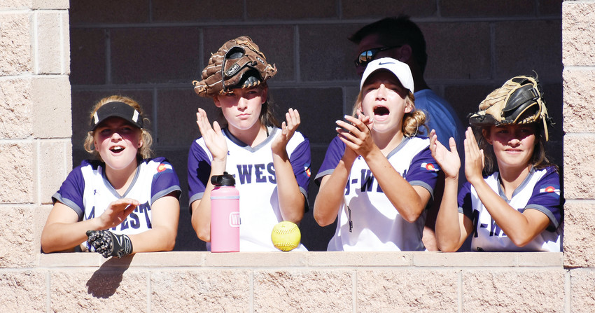 Arvada West's dugout had plenty to cheer about Sept. 15 at Ralston Valley High School. The Wildcats opened Class 5A Jeffco League play with a 15-8 victory over rival Ralston Valley.