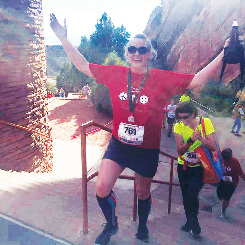Lisa Moran completed her first Run the Rocks 5K in 2015 a few months after being diagnosed with lung cancer.