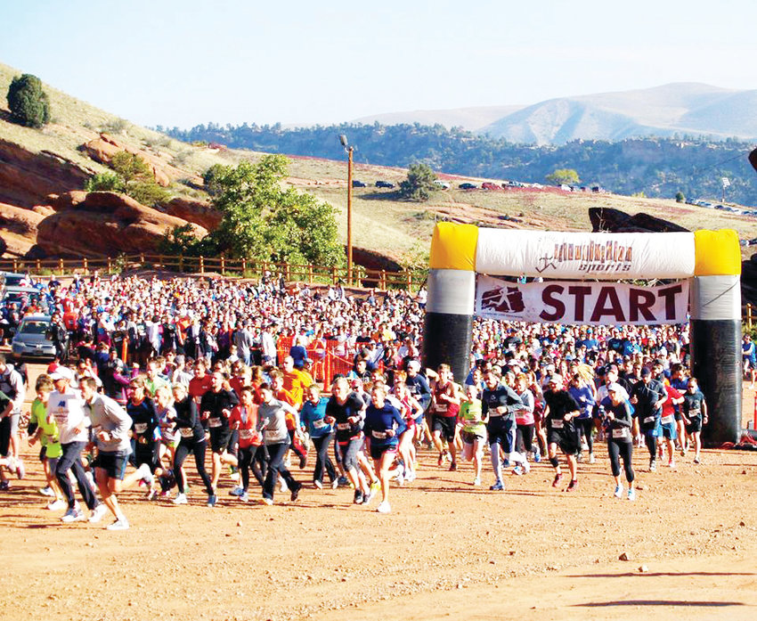 Thousands of runners participate in Run the Rocks hosted by the Lung Association at Red Rocks annually.