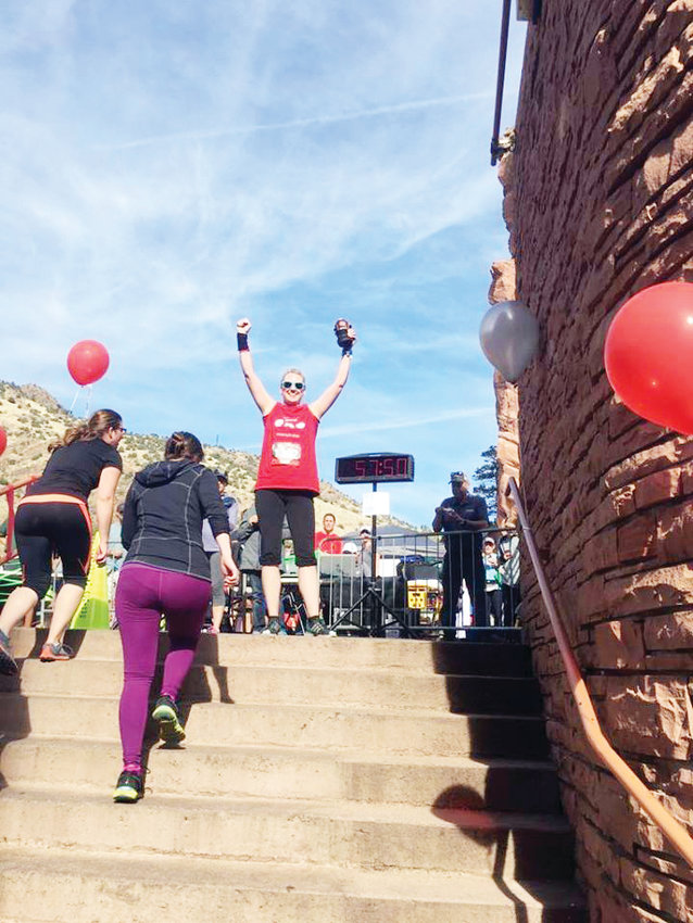 Lisa Moran has run the race at Red Rocks every year since being diagnosed with lung cancer in 2015.