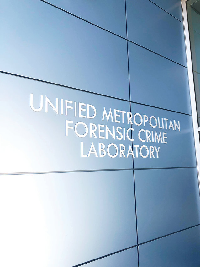 The Unified Metropolitan Forensic Crime Laboratory is a joint project among Douglas County, Arapahoe County and the City of Aurora and will be staffed by 31 employees from all three jurisdictions.