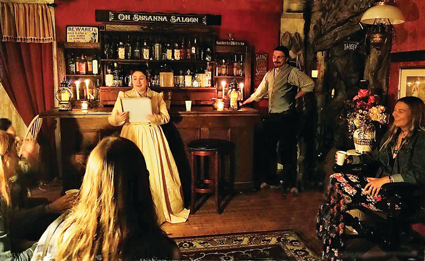 Golden's Historic Ghost Tour and Pub Crawl uses actors to tell visitors about real events that some believe have left the community's most historic buildings haunted.