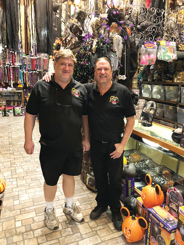 Chris and Greg Reinke began hosting haunted house attractions as children and 50 years later still operate one of Littleton's most popular haunted houses from their downtown haunt shop.