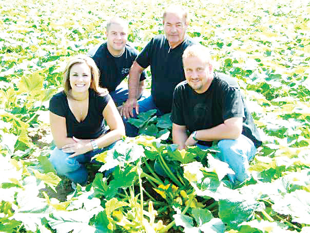 Gina Palombo-Dinkel, Joe Palombo, Mark Villano and their father, Angelo Palombo, started the Haunted Field of Screams in 2001 as a corn maze before turning it into a haunted attraction.
