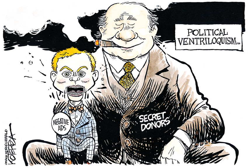 Jeff Koterba cartoon for April 16, 2014