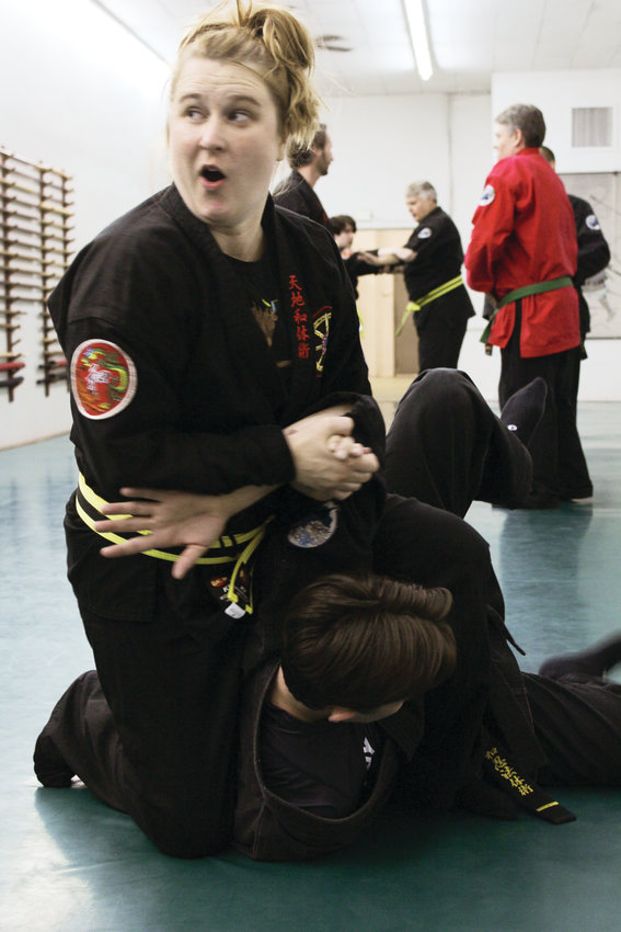 Allison Webster is a student at Wash Park Martial Arts. She started by taking the self defense classes for women.