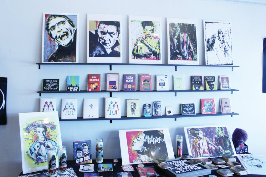 Remixed gifts celebrated one year on South Broadway in September. The store is a boutique influenced by music from The Cure, Nirvana and David Bowie.
