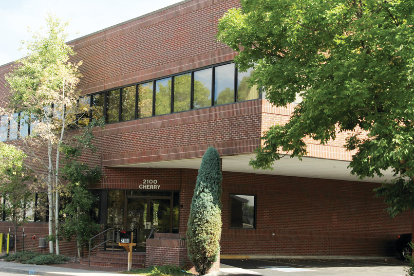 A developer has purchased several buildings in the University Hills neighborhood near Evans and Interstate 25, including this office building at 2100 S. Cherry St.