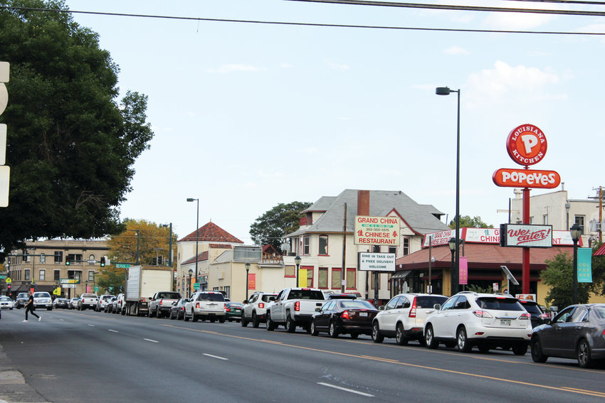 Jill Lacontore, executive director of Walk Denver, said congestion on Colfax Avenue drives more cars onto side streets like East 14th and 13th avenues. With the Colfax Corridor Connection project, the city is hoping to fix that by increasing the number of buses on the street.