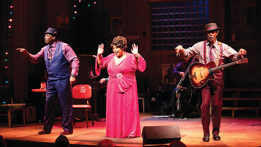 Big Mama, Felicia P. Fields, with Shake Anderson and Chick Street Man will perform with a band to deliver favorite blues songs at Lone Tree Arts Center.
