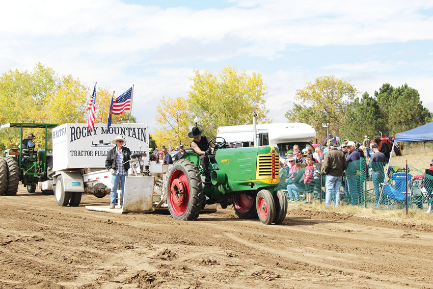 The Rocky Mountain Tractor Pullers Association entertained residents by hosting the largest tractor pull in the state.