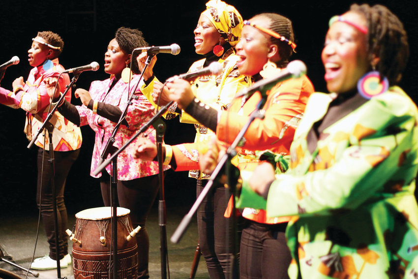 Nobuntu, a five-member female a cappella group from Zimbabwe, will perform Oct. 27 at the Lakewood Cultural Center. The group also will put on an African dance workshop for ages 18 and older.