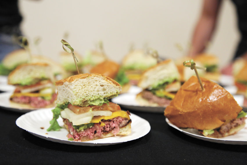 Homegrown Tap and Dough sampled its el chilango burger for the 2016 rendition of the annual culinary event Taste of Arvada.