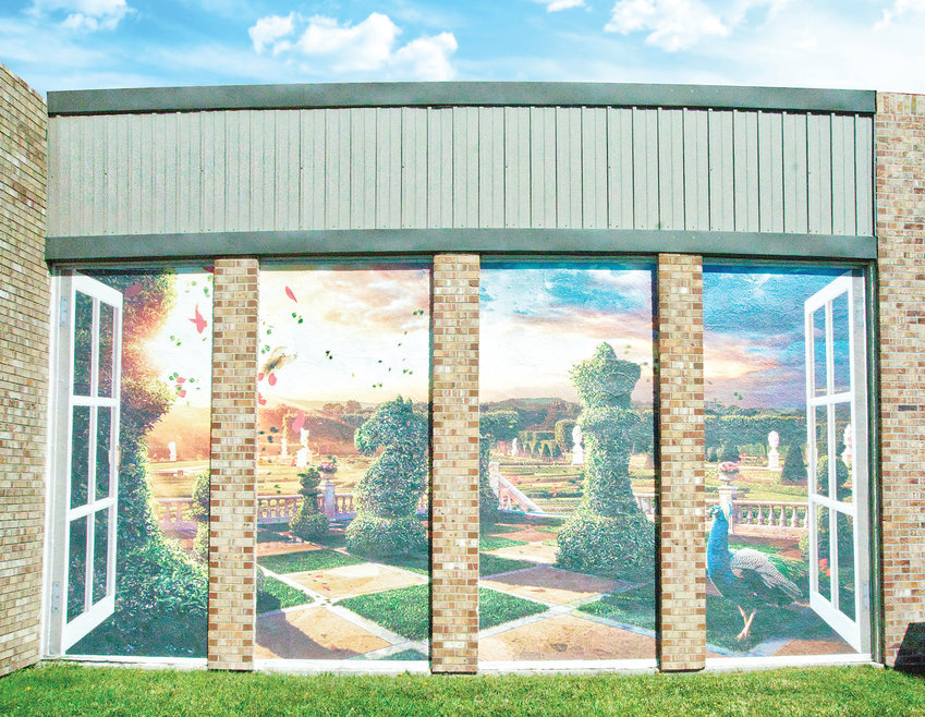 Joe Givan designed a mural to go on the business he operates with his wife, Carol, and hopes more businesses in Castle Rock will do the same.