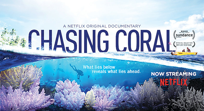 "There will be a screening of the documentary ""Chasing Coral"" Oct. 26 at Pomona High."
