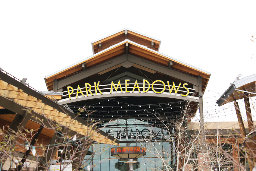 Park Meadows mall is a major draw for Lone Tree.