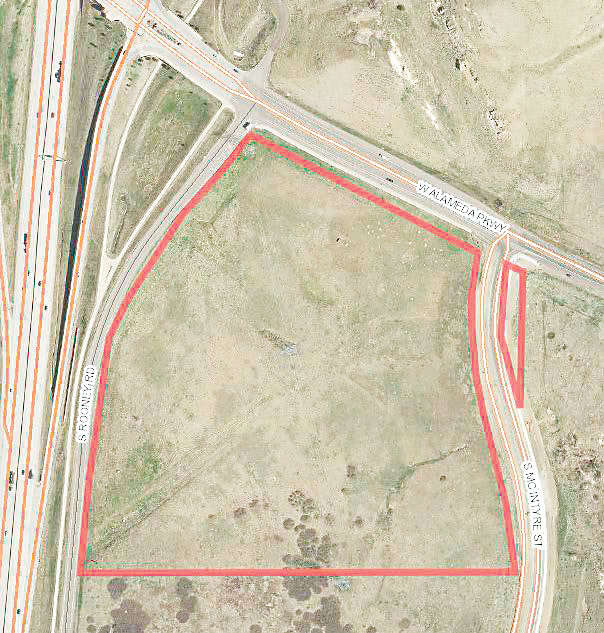 A rezone approved by the Jefferson County Commissioners on Oct. 16 will allow for additional commercial uses on a 30-acre parcel of land located southeast of C-470.