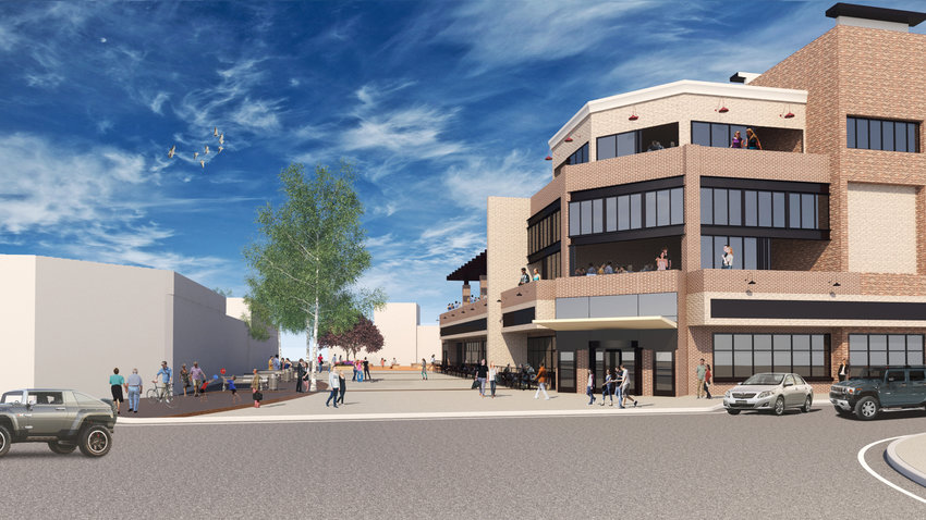 A rendition of the West End on Mainstreet Project