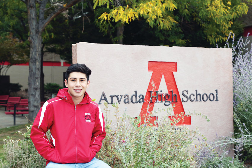 Saul Garcia is a student athlete at Arvada High School.
