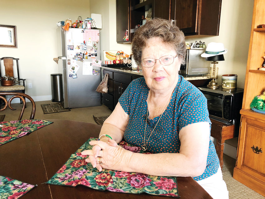 Marilyn McQueary has lived in Castle Rock for approximately 14 months. She moved in with her son and daughter-in-law after the passing of her husband, leaving behind her Florida home of three decades.