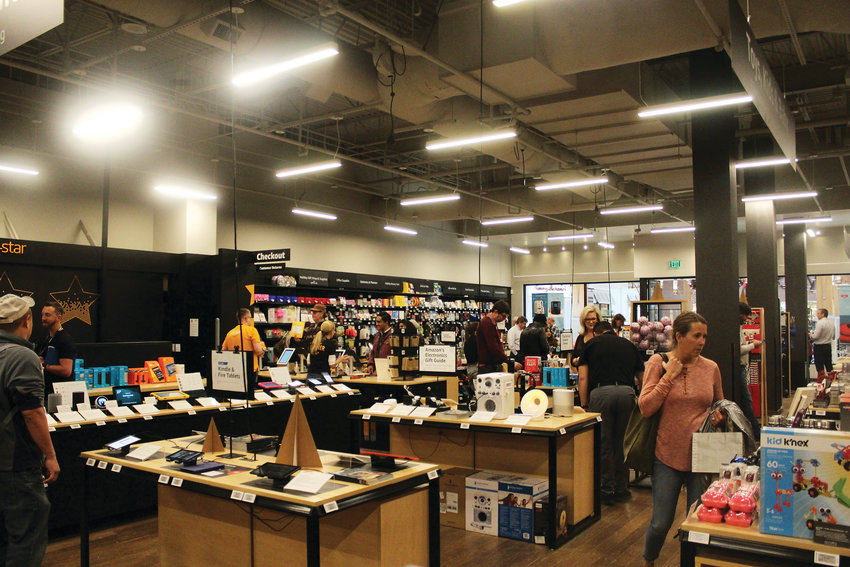 "The Amazon 4-Star store contains a plethora of products for shoppers to browse. ""It's all about product discovery at a place like this,"" said Amazon 4-Star Vice President Cameron Janes."