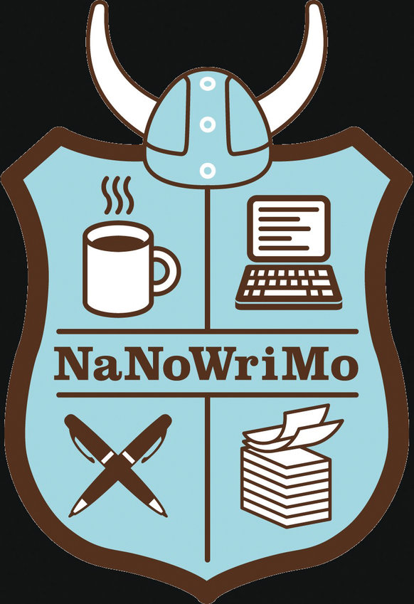 The official symbol of NaNoWriMo, the National Novel Writing Month. Organizers expect 400,000 writers to participate in the effort this year.