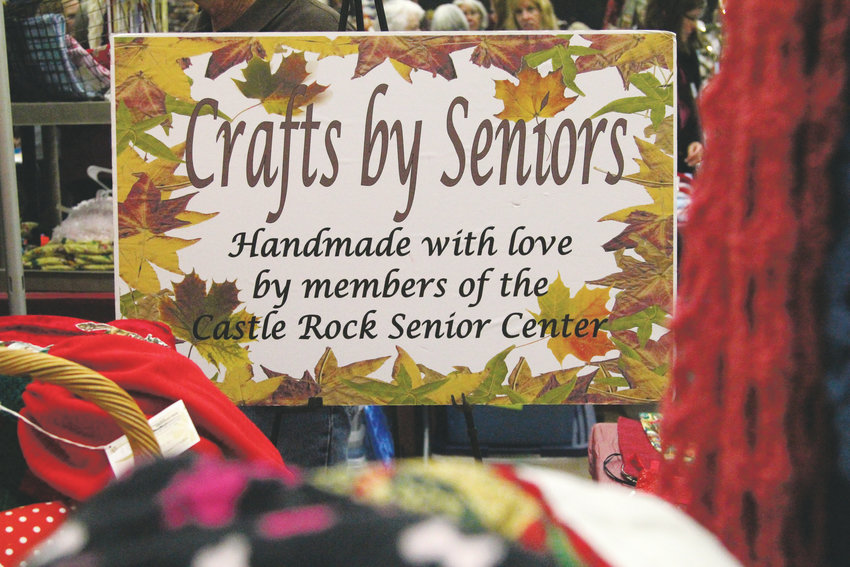 The Castle Rock Senior Activity Center hosted its 26th Annual Craft Show Castle Rock Craft Show estraordinaire, with some items made by Castle Rock seniors plus more than 150 other vendors.