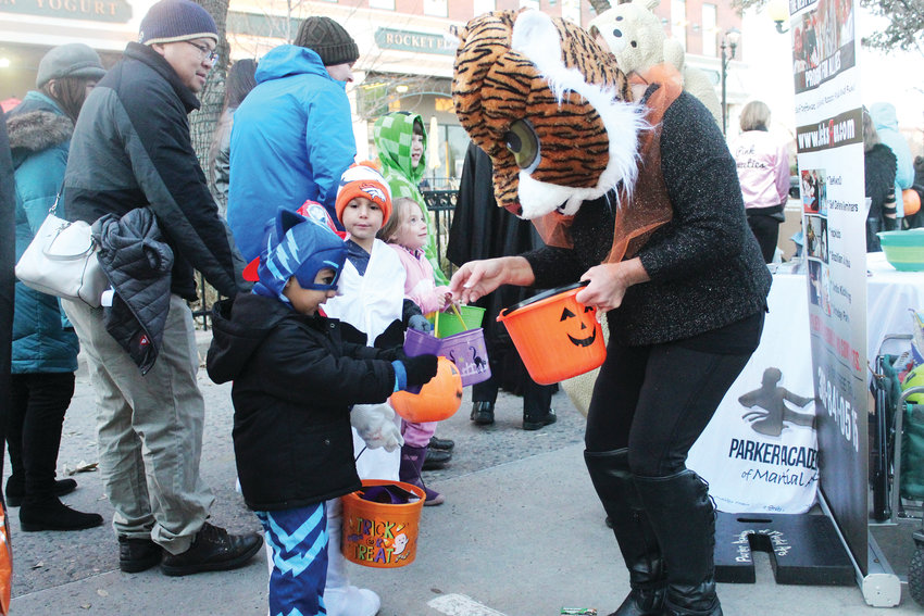 Kids lined the half-mile stretch of Mainstreet in downtown Parker for candy during the Trick-or-Treat on Mainstreet event Oct. 31.