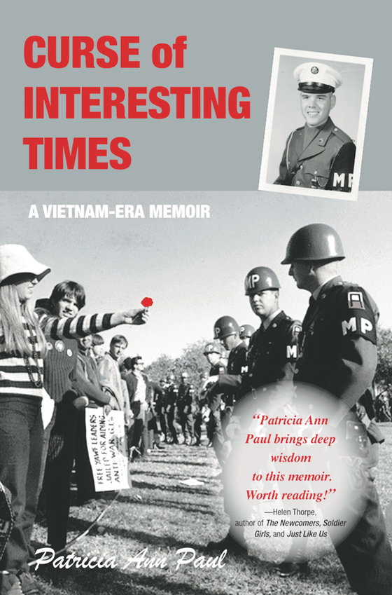 """Curse of Interesting Times"" book cover by Patricia Paul of Castle Rock."